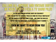 Antique Experts Wanted for TV Competition