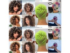 Curly Hair & Shaved Head Model Needed - TFP