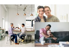 Looking for LGBTQI+ Couples for an 'At Home' Stock Photo Shoot