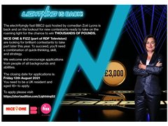 Contestants Wanted for BBC Show Lightning