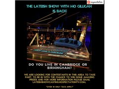 Contestants Wanted for 'Lateish With Mo Gilligan'