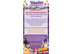 Female Actors Needed for Kids Party Entertainer Job - Melbourne