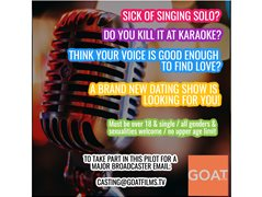 Single Singers Wanted for Big New Studio Show