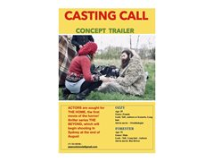 Actors/Actresses Required for Concept Trailer