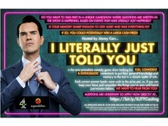 Contestants Wanted for Brand New Comedy Gameshow Hosted by Jimmy Carr!