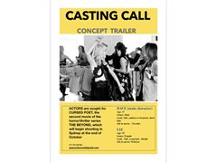 Actors/Actresses Required for Concept Trailer 2