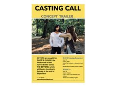 Actors/Actresses Required for Concept Trailer 3