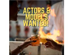 Actors Wanted for Drinks Ad Campaign