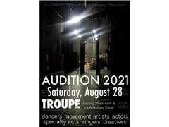 2021 Performance Troupe Auditions