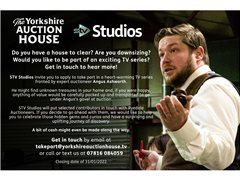 Could You Be Part of the Next Series of The Yorkshire Auction House?