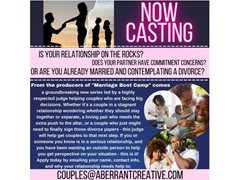 Casting Couples Who Are at a Crossroads in Their Relationship
