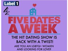 Women From the LGBTQ Community for Five Dates A Week C4 Show