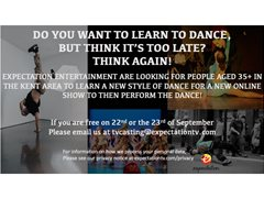 Learn to Dance: Seeking Kent Residents for Entertainment Show - £100
