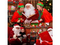 Santa Claus Actor for Ennis Town Christmas Experience