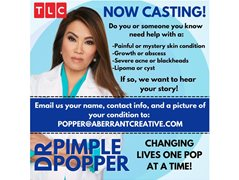 Dr. Pimple Popper Is Seeking People With Severe Skin Conditions