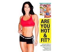 Inside Fitness magazine feature girl - Australia