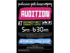 Audition  articular Youth Dance Company - London