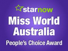 Play Face-Off with the Miss World Australia People's Choice contestants