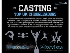 Casting the UK's best cheerleaders for a new Youtube series