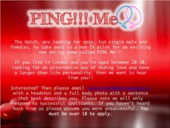 Single male and females needed for an exciting new dating show - London