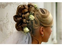 Wedding hair and makeup models - Youtube online TVseries - UK
