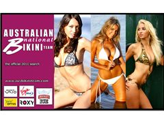 The official all Australian national bikini team 2011 search - AUS