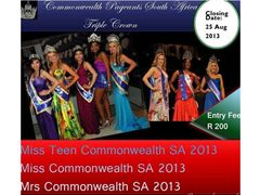 Miss Teen Commonwealth SA 2013 - South Africa