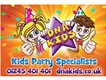 Children's Entertainers/Party Hosts £600+ Per Week - Harrogate