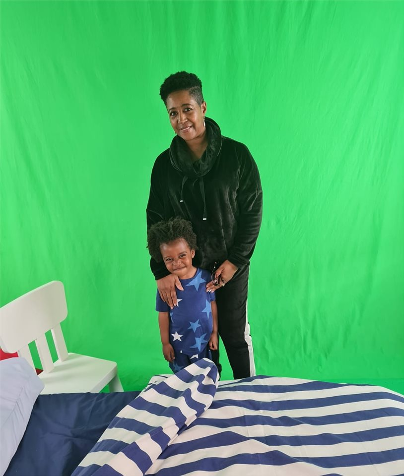 Bryson and grandma onset for National Literacy