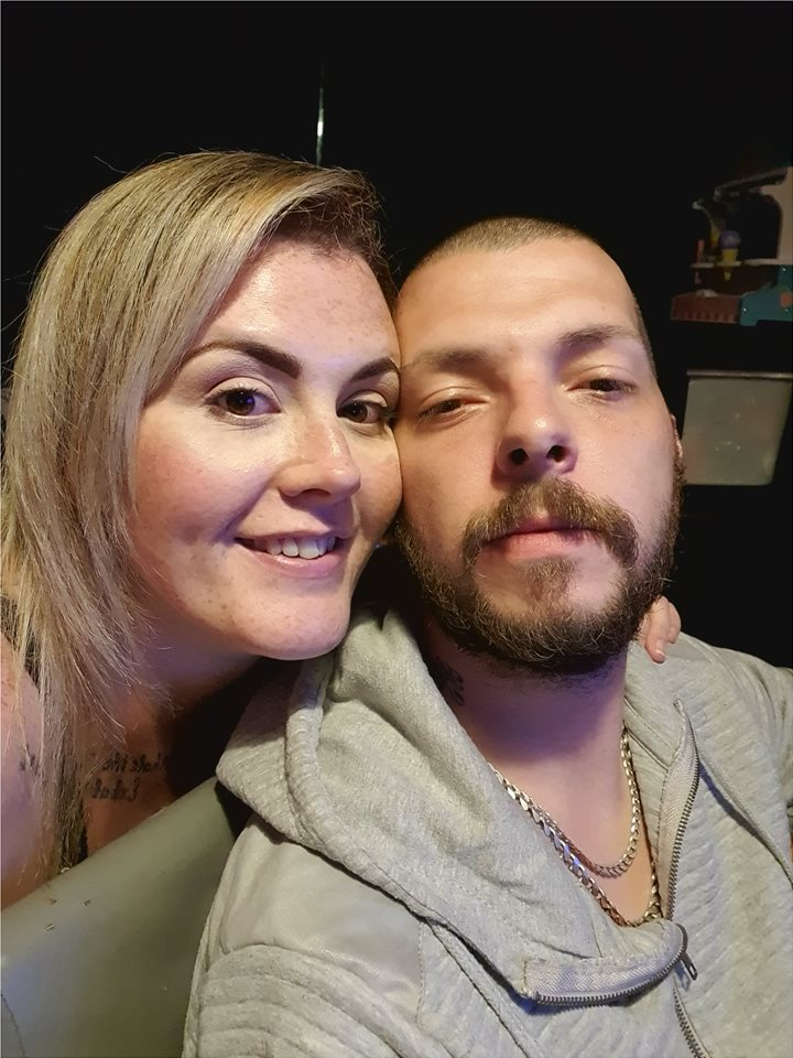 This is me and my wife