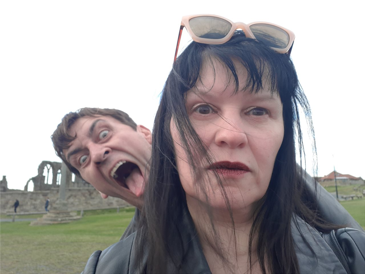 He's behind you....Baz being Dracula in Whitby