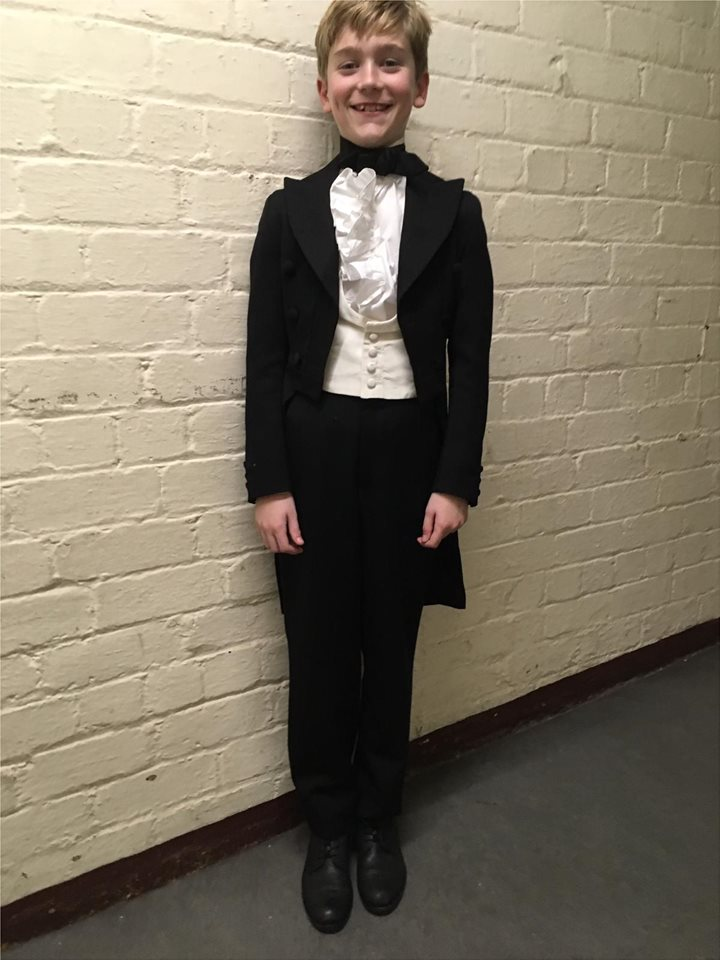 In character at King and I