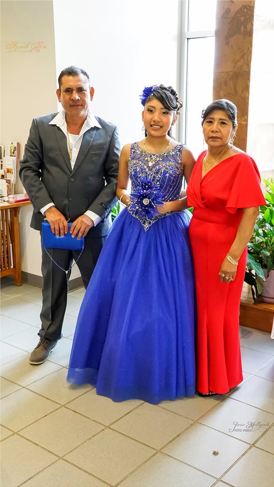 This is me and my parents