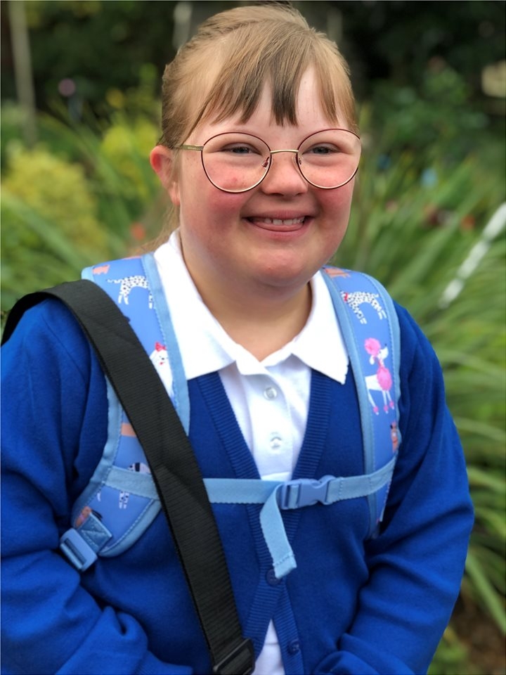 Sister (13) - has Down syndrome