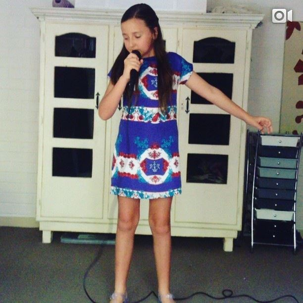 Sophie Henning - a photo of my audition video for the voice