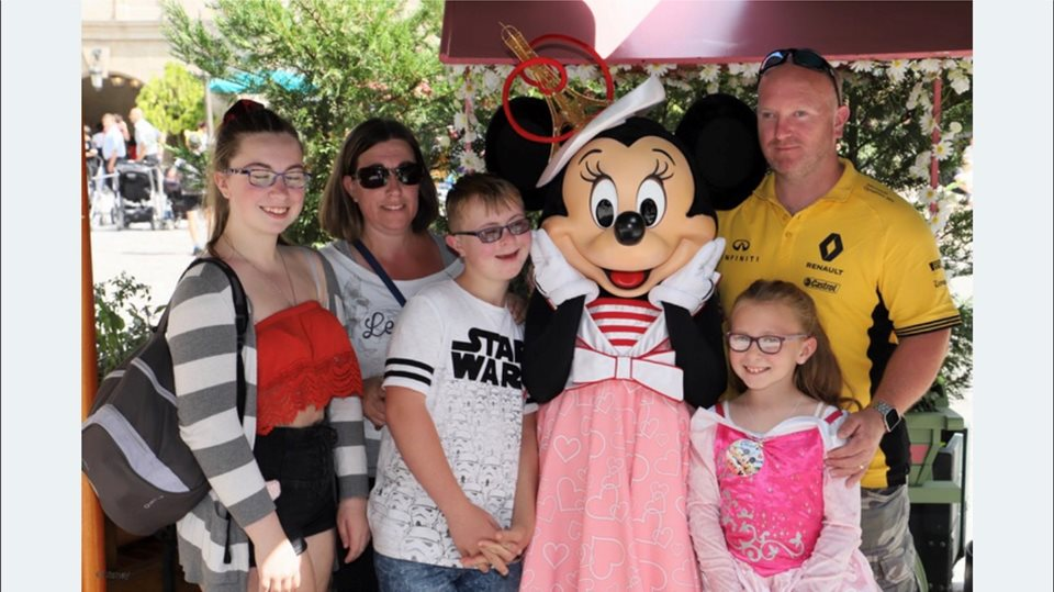 Fun with Minnie Mouse