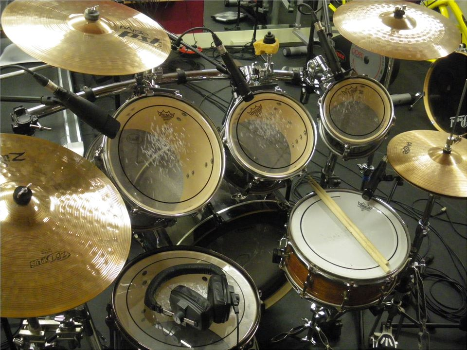 how to set up a drum kit pdf