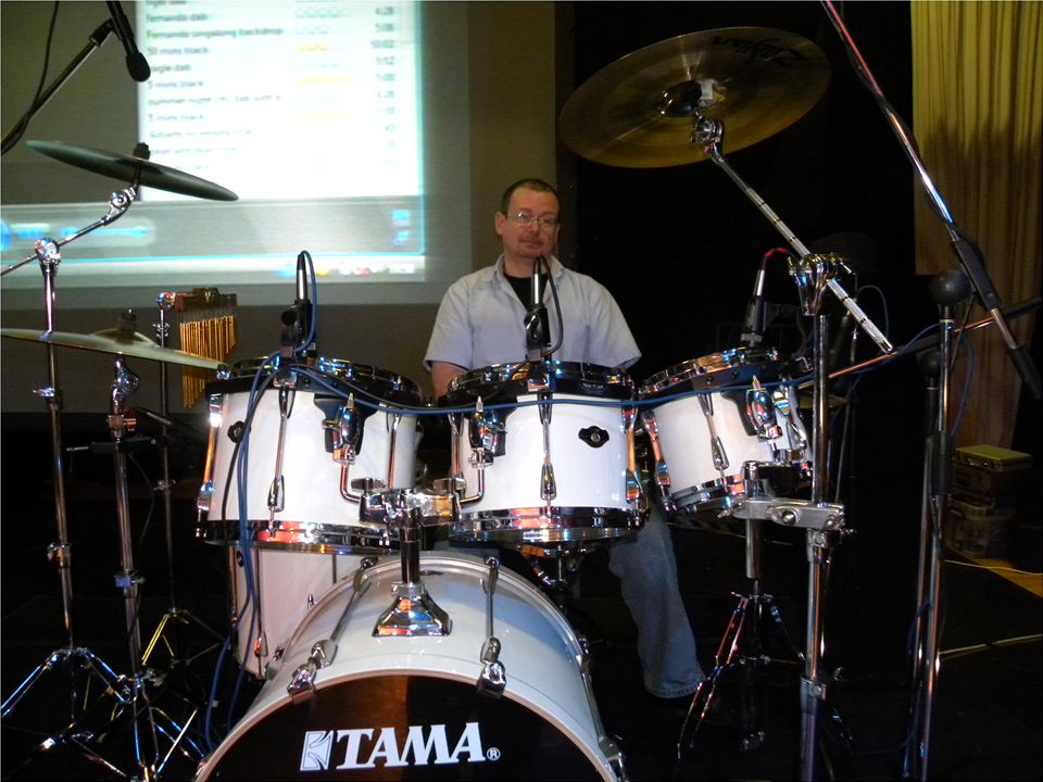 Dennis Price Is A Singer And Drummer Based In Stoke On