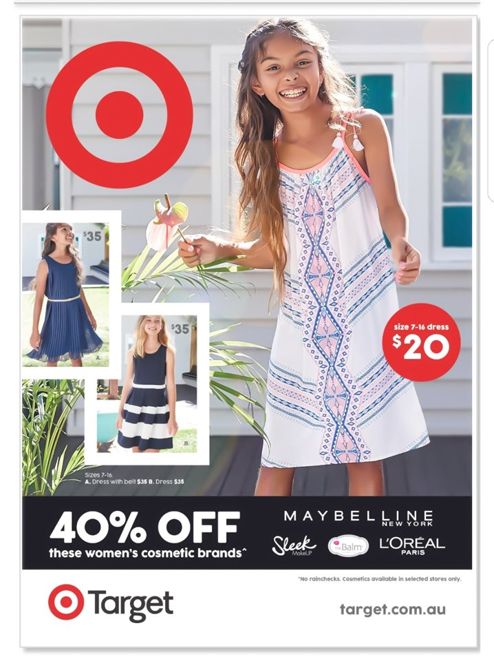 Meisha Dwyer - Front cover of the Summer 2017 Target