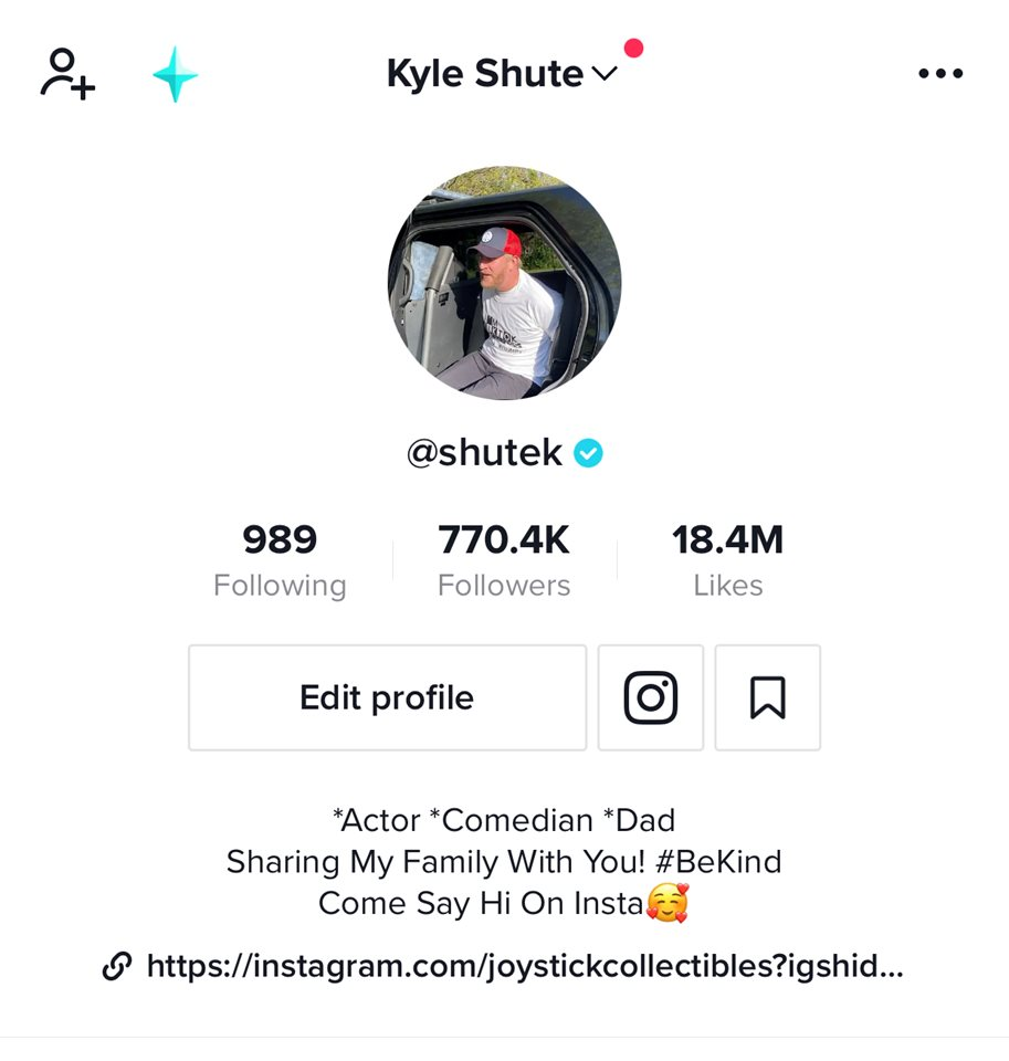 We are a Tiktok famous family and average 20 million views per month.