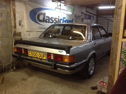 martin holland my granada 1985 granada ghia for hire starnow