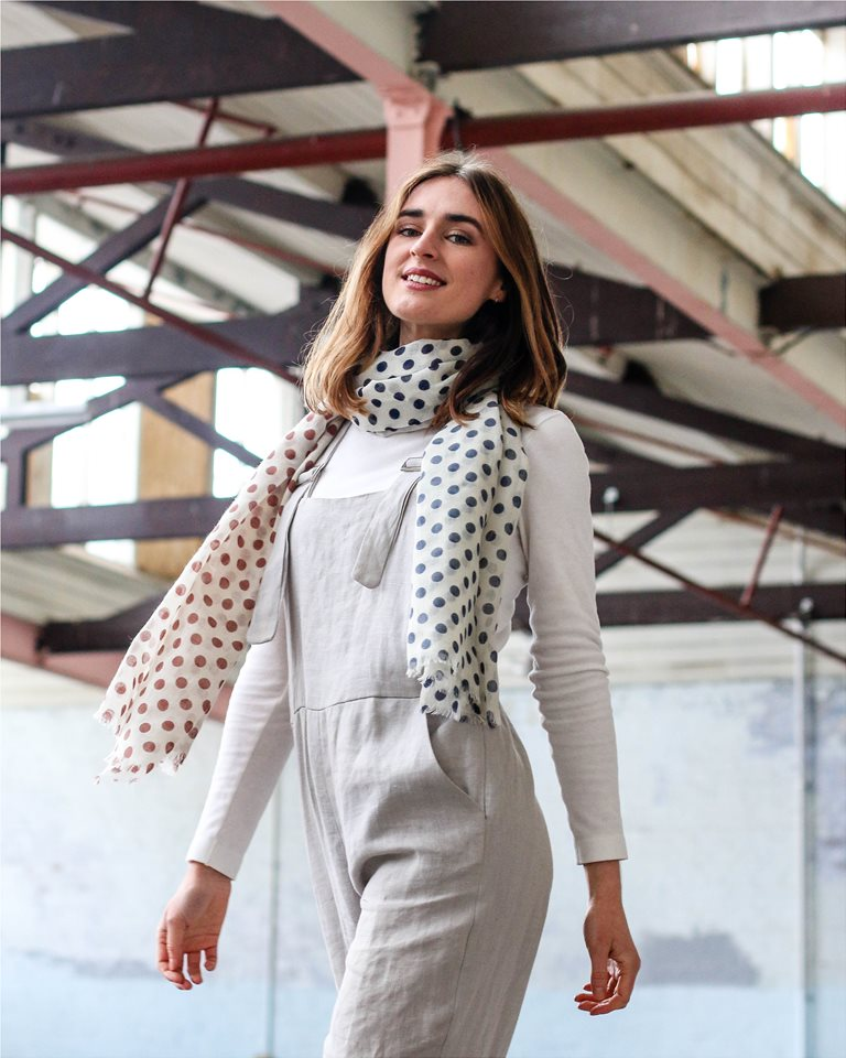 50f0f8ac85a Olivia Round - Look book for The Scarf Company - StarNow