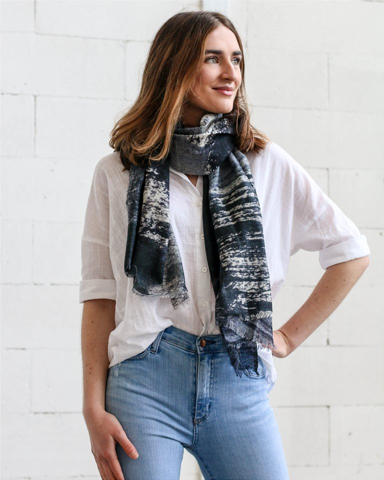e64c6ba19ab Olivia Round - Look book for The Scarf Company | StarNow