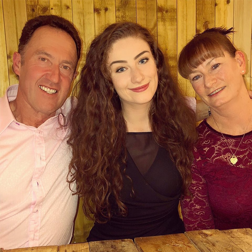 Daughter (Me), Mum & Dad