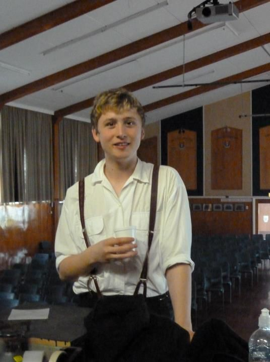 Ben Richards - From my drama class production of Dancing at