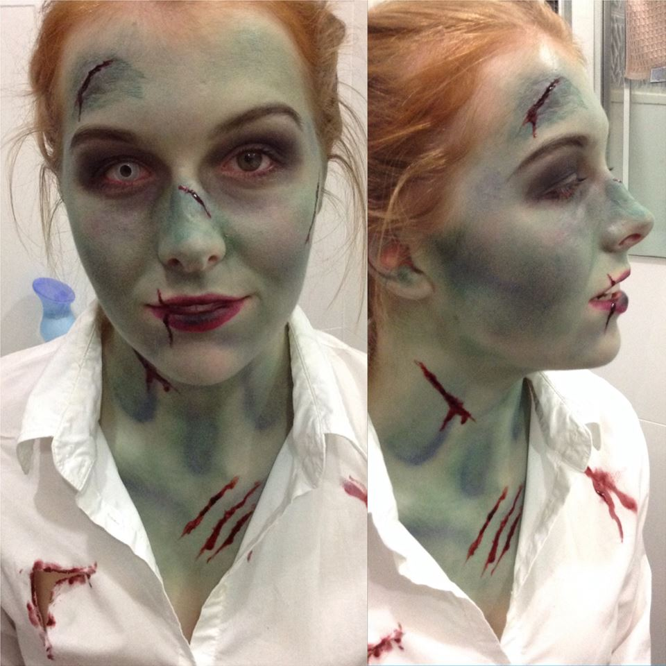 Special Effects Zombie Makeup Starnow