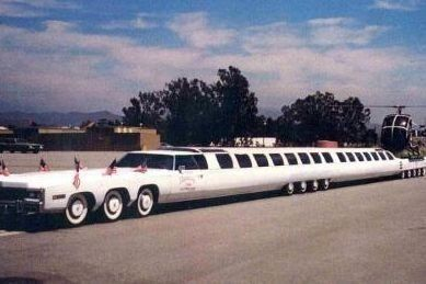Robert Strauser - World's Longest Limo 100 foot Caddy By ...