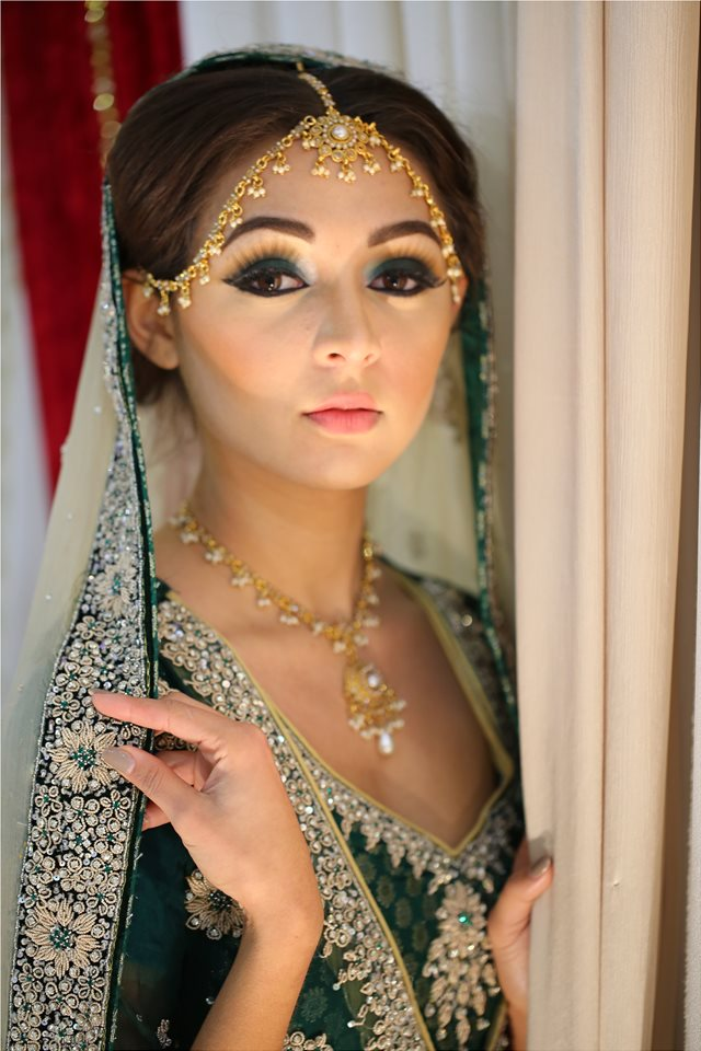 Thought differently, the asian bridal look remarkable, rather
