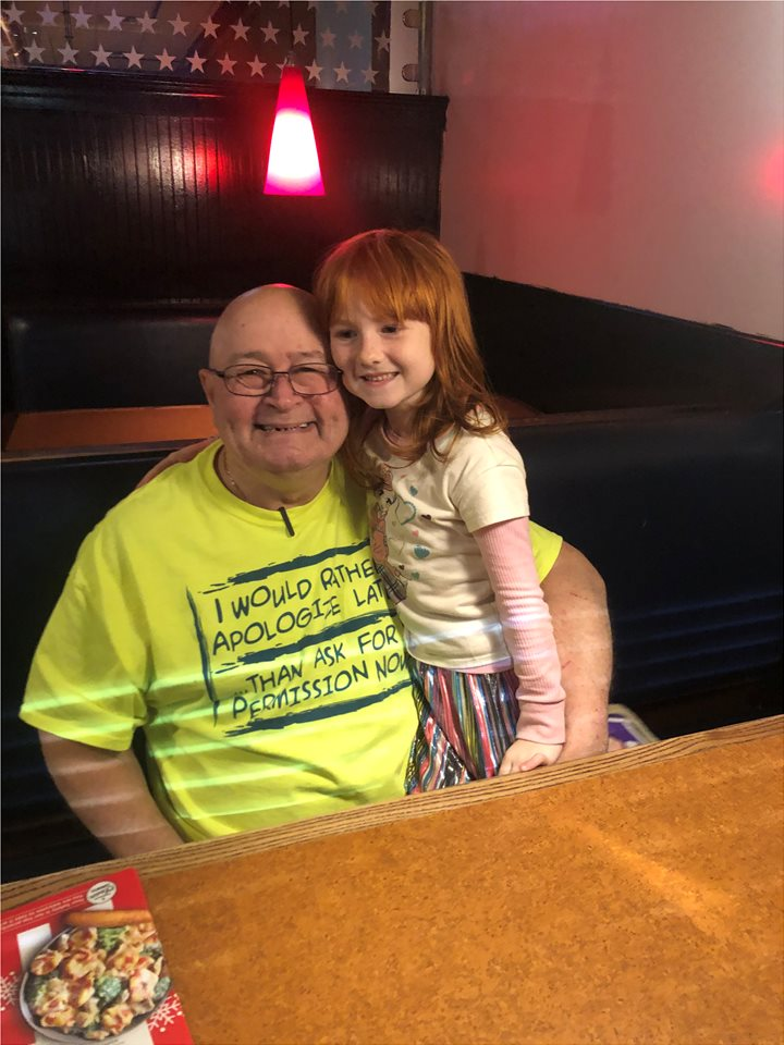 Uncle Billy and daughter Savannah