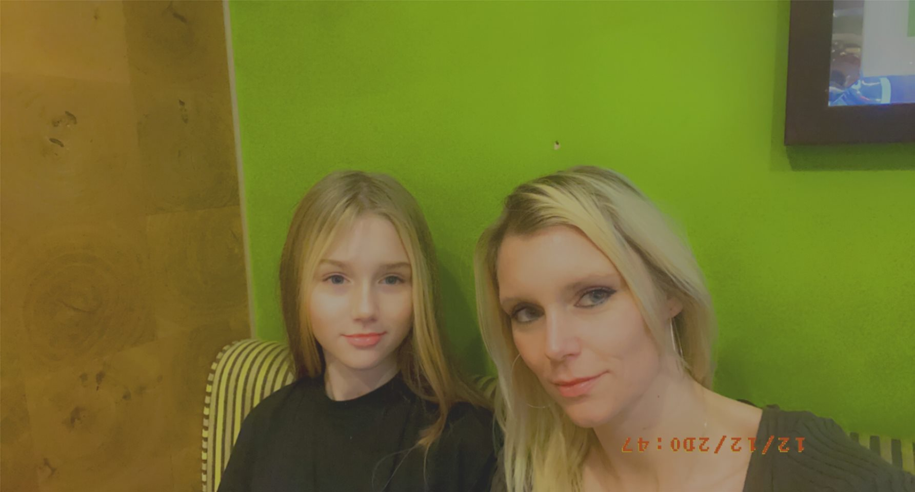 My self 37 and my 11 year old daughter